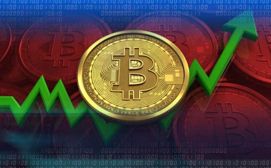 Bitcoin tăng đột biến lên đỉnh 8.700 USD