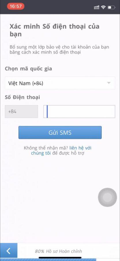 Cách xử lý khi không nhận được mã SMS để xác minh số điện thoại