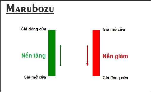 Tìm hiểu cơ bản về mô hình nến Marubozu