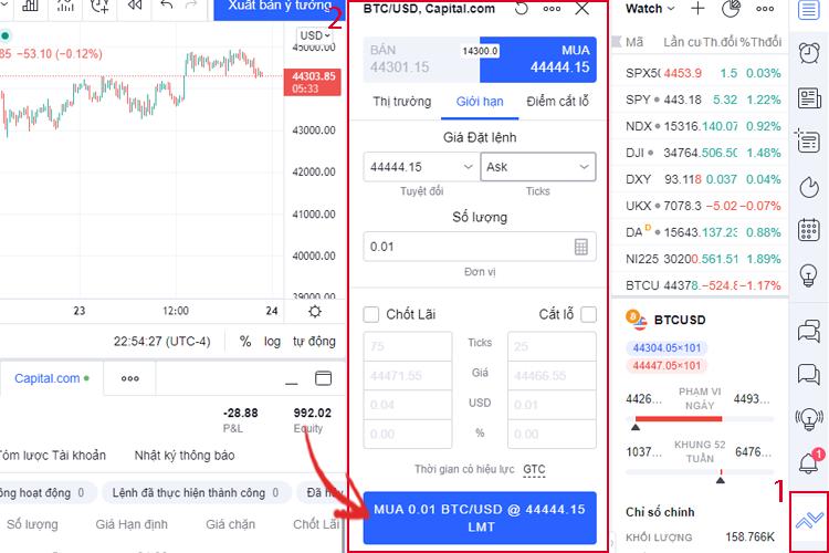 Đăng nhập Capital.com trên Tradingview: Tận dụng lợi thế kép của 2 nền tảng để giao dịch hiệu quả nhất